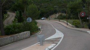 D55/ D155 Ajaccio- South coast road